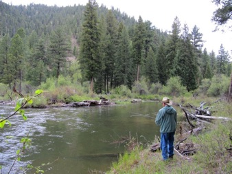 Fishing the West Fork
